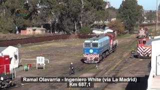 preview picture of video 'Maniobras de FEPSA en Ingeniero White'