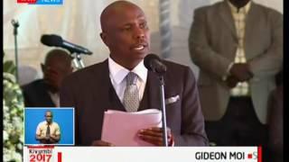 Rais Uhuru Kenyatta ajumuika na jamii na marafiki kwa kuhudhuria mazishi ya Nicholas Biwott