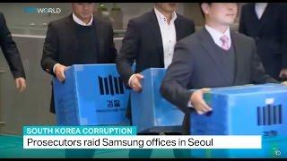 South Korea Corruption: Prosecutors raid Samsung offices in Seoul