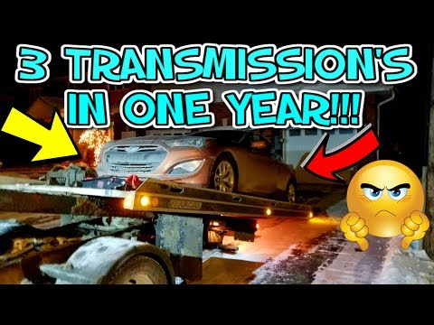 My Transmission BROKE AGAIN!!! - Hyundai Genesis Coupe Reliability ISSUES