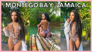 TRAVEL WITH ME TO JAMAICA... MARTHA BRAE RIVER, YACHT PARTY, & TRYING JAMAICAN FOOD