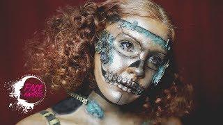 "Antique Automaton Tutorial || NYX Face Awards 2018 Top 20 - ""Machinist"""