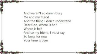 Joe Walsh - The Friend Song Lyrics