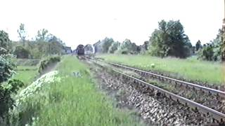 preview picture of video 'ÖBB 2143, CSD 770 Marchegg 1991'