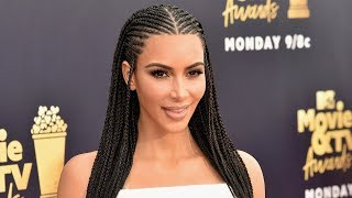 Kim Kardashian DEFENDS Wearing Fulani Braids AGAIN After Backlash
