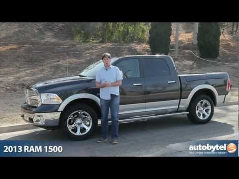 2013 Ram 1500 Laramie Crew Cab Truck Video Review