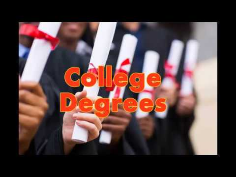 mp4 College Degrees In Order, download College Degrees In Order video klip College Degrees In Order