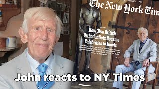 John Mew reacts to the New York Times article