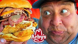 ARBY'S® Denali Meat Mountain Sandwich Review!