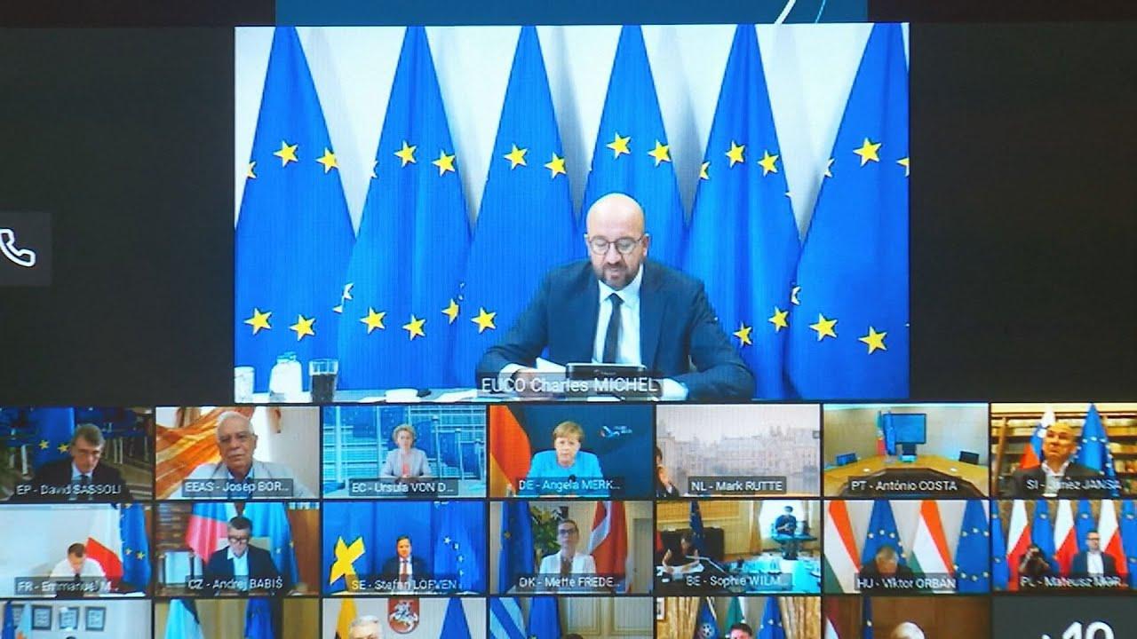 Τηλεδιάσκεψη των ηγετών της ΕΕ για τη Λευκορωσία