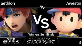 USW 3 - FX | Sethlon (Roy) vs FX | Awestin (Ness) Winners Semifinals - SSBU