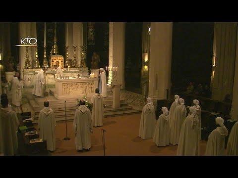 Vêpres et messe du 4 novembre 2017