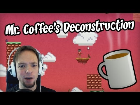 Mr. Coffee's Deconstruction Let's Play - COFFEE!!! - Gameplay & Commentary