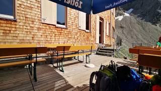 Allgäuer Hauptkamm:   Waltenberger Haus   Kemptner Hütte