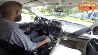 Driving with Paravan first person view (FPV)