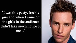 9 Things You Didnt Know About Eddie Redmayne   Star Fun Fs