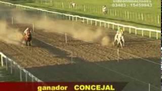 preview picture of video '10° Carrera-Hipodromo LA ILUSION-Domingo 14 de febrero de 2010'