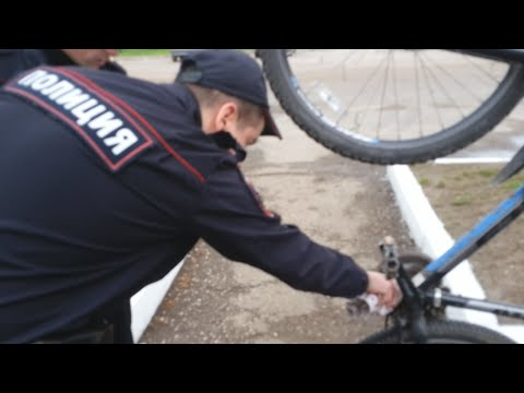 Проверка велосипедов в Нижнекамске