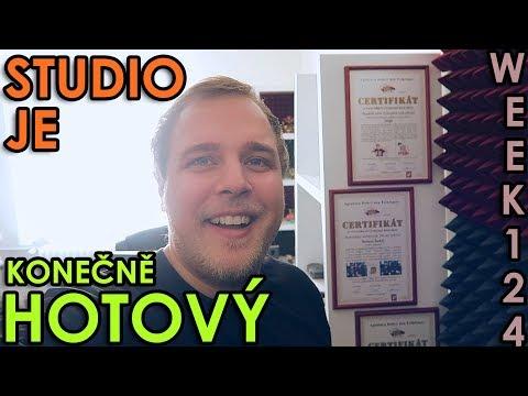 STUDIO JE KONEČNĚ HOTOVÝ - WEEK #124