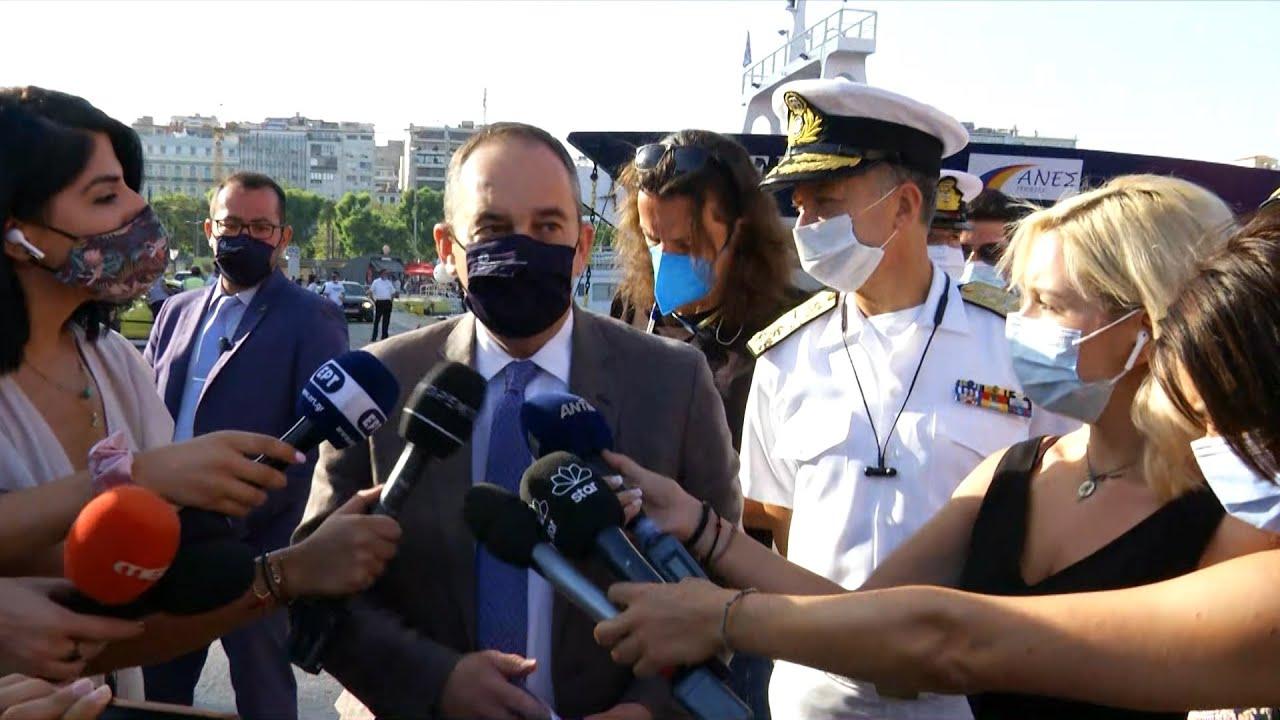 Την εφαρμογή των υγειονομικών μέτρων έλεγξε ο Γ. Πλακιωτάκης
