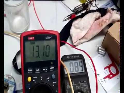 Elektrometru ze specyfikacją ISO-2