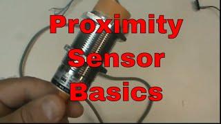 Proximity Sensor Basics (PNP, capacitive)