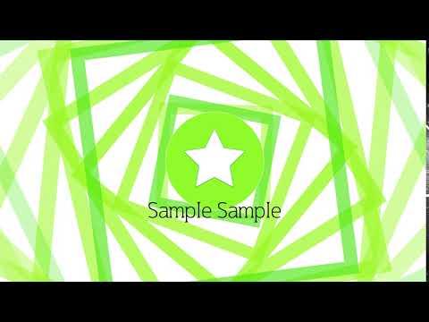 シンプルなロゴアニメーション映像を作ります テンプレートがあるので、アイデアが浮かばなくても大丈夫! イメージ1