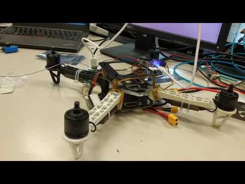 Naze32 motor test with baseflight configurator