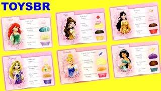 TOYSBR Disney Princess Cupcake Party Game | Cupcake Surpresa Princesas Anna Elsa Ariel Mulan