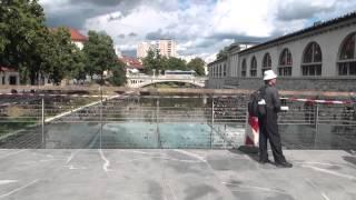 リュブリャーナスロベニア市内観光