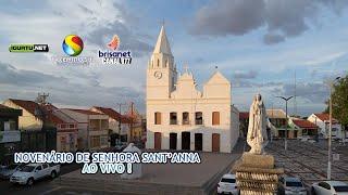 Festa de Senhora Sant'Anna de Iguatu será transmitida na TV Centro Sul