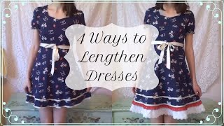 How To Add Length To Dresses (4 Easy Hacks!)