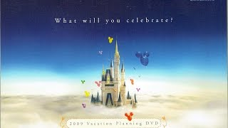 2009 Walt Disney World Vacation Planning DVD - What Will You Celebrate? - InteractiveWDW