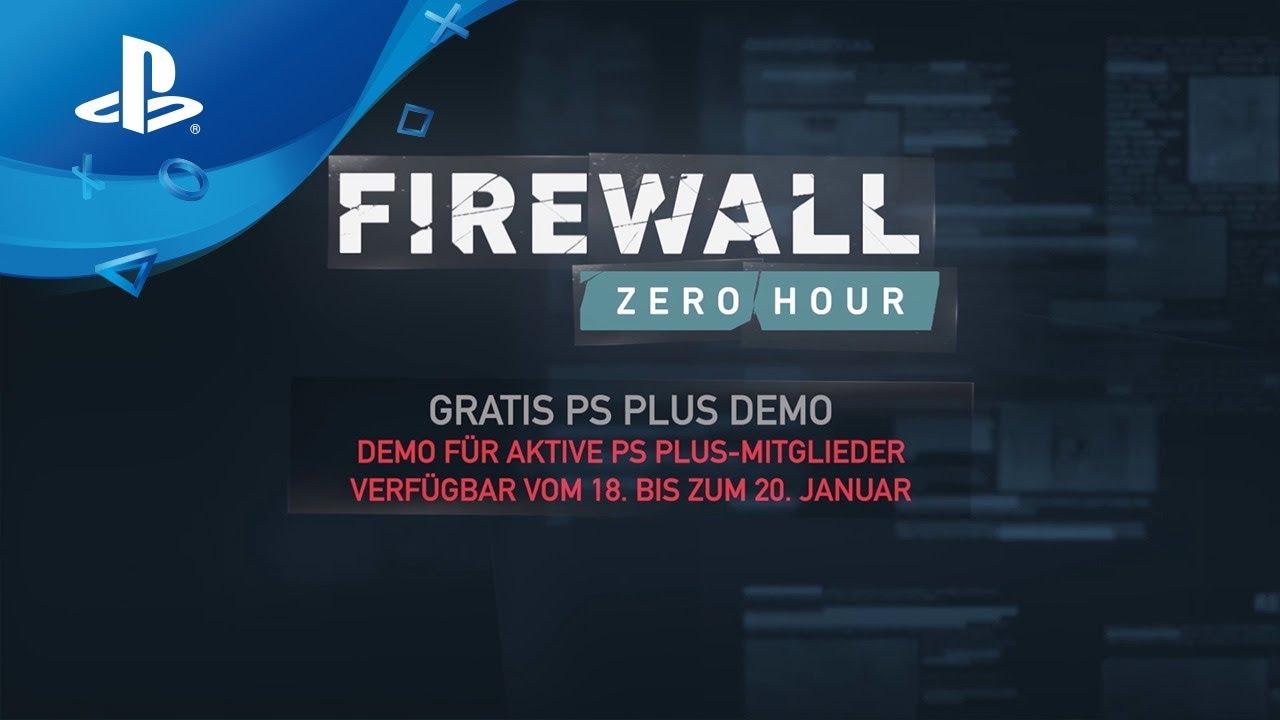 PlayStation Plus-Mitglieder können an diesem Wochenende den taktischen PS VR-Shooter Firewall Zero Hour kostenlos testen
