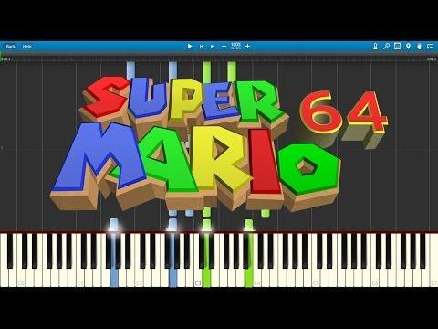 Lara Plays Bob Omb Battlefield From Super Mario 64 On Piano