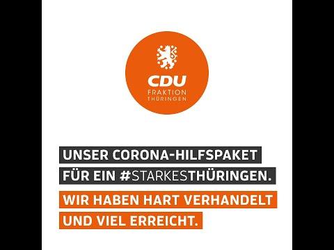 Unser Corona-Hilfspaket für ein #StarkesThüringen.