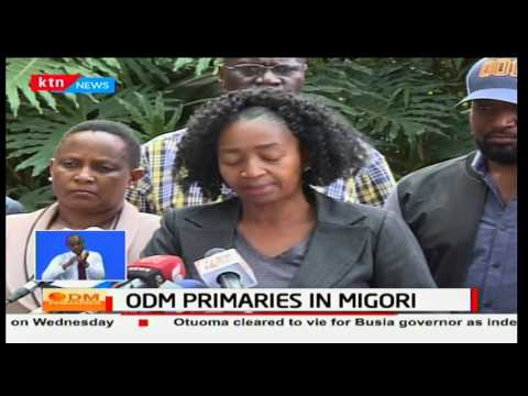 ODM elections board nullifies Migori and Homabay results following alleged election malpractice