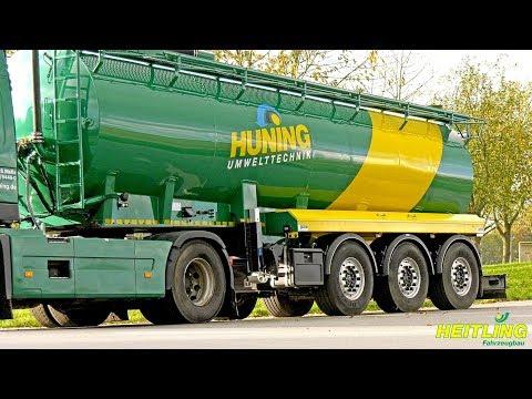 Heitling Fahrzeugbau 39 t Flüssigmist-Transportfahrzeuge
