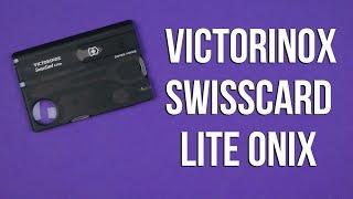 Victorinox SwissCard Lite Onyx (0.7333.T3) - відео 1