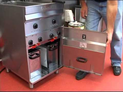 How to Clean a Valentine Evo Fryer