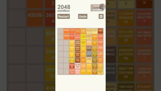 Getting Infinite In 2048 Sandbox! (Really Cool To Watch)