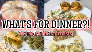 Whats For Dinner? | Pinterest Recipes | Family Meals Of The Week | Easy Meals