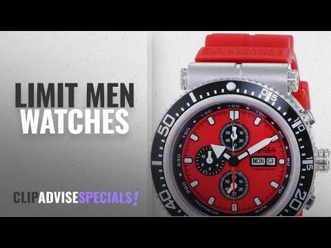 10 Best Selling Limit Men Watches [2018 ]: Nautec No Limit Gents Watch XL Deep Sea Professional