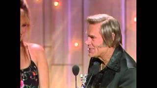 George Jones Wins Top Male Vocalist - ACM Awards 1981