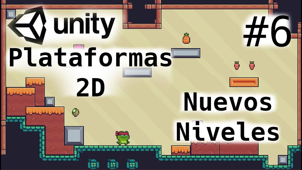 Juego de Plataformas 2D/Nuevos Niveles-Level/Unity Tutorial 2020/6-Capitulo/Programacion Videojuegos