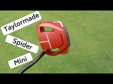 TAYLORMADE SPIDER MINI PUTTER REVIEW – USING TITLEIST AVX 2018 BALL