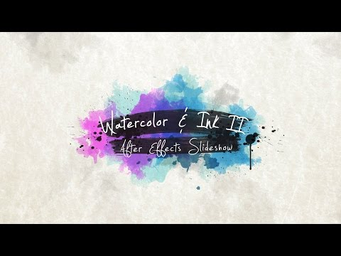 Watercolor & Ink Slideshow