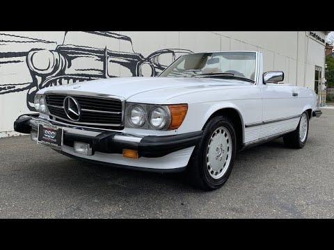 Video of '87 560SL - Q40Z