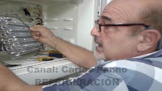 NO ENFRÍA ABAJO (DOS TEMPERATURAS) VÍDEO COMPLETO-CAMBIO DE RESISTENCIA.