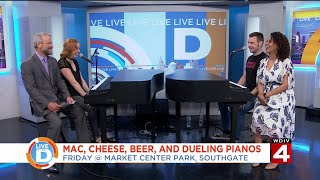 Live in the D: Mac, Cheese, Beer, and Dueling Pianos
